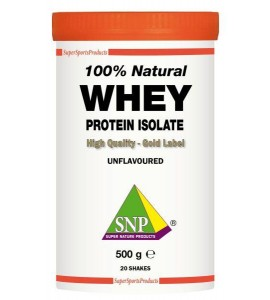 Whey Protein Isolate 100 % Natural 500 gram