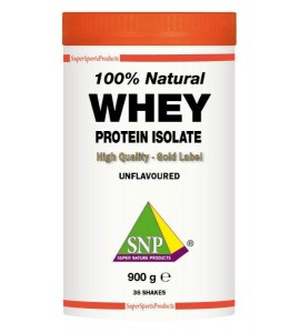 Whey Protein Isolate 100 % Natural 900 gram