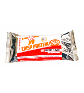 12 Bars x 65 gram: Crisp Protein Bite	- M Double You