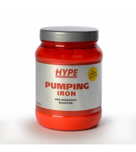 Hype's Pumping Iron Pre-Workout 820 gram
